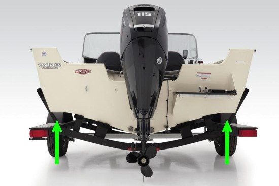 Tracker Pro Guide V-165 WT chine flats