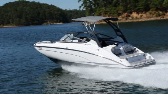 Yamaha 212 Limited S top speed