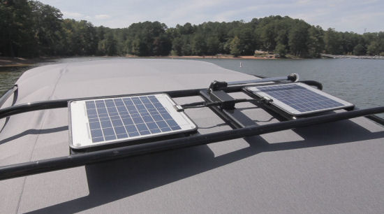 Yamaha 242 Limited S E-Series solar panels