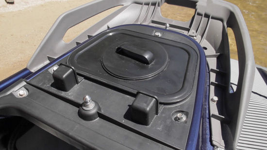 Yamaha VX Deluxe watertight storage