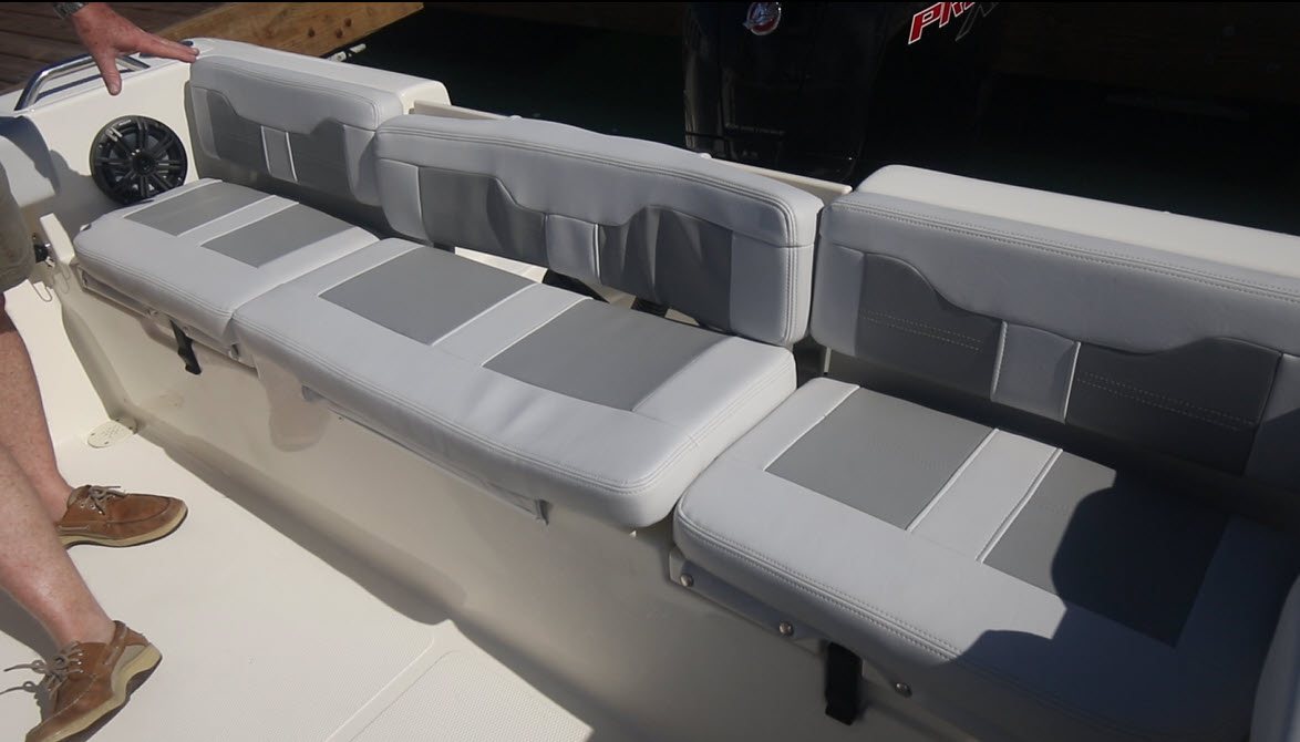 Stern seating