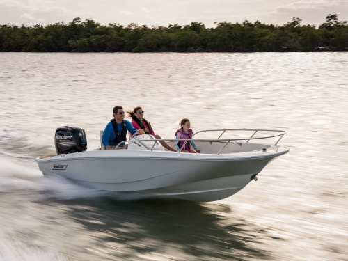 Boston Whaler 160 Super Sport Running